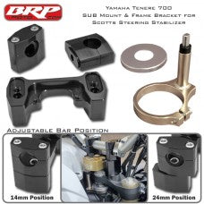 BRP Sub Mount Kit for Yamaha Tenere 700