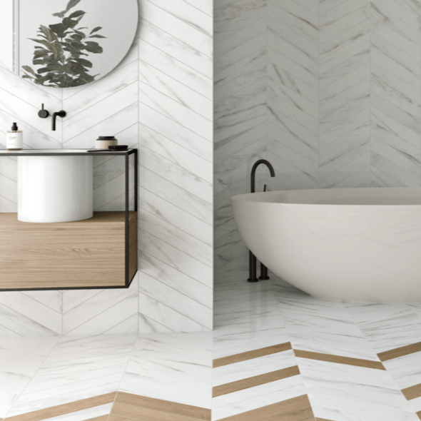 Chevron Herringbone Tiles