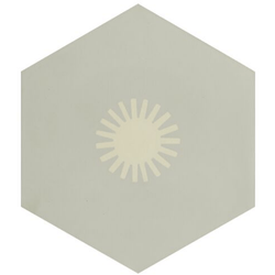 Jigsaw Sun Encaustic Neisha Crosland Tiles