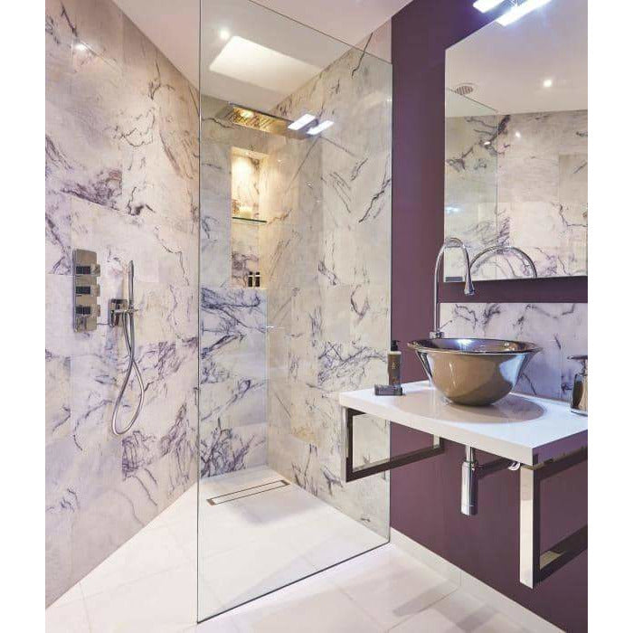 Amethyst Marble Honed Finish