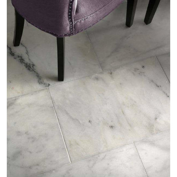 Ca'Pietra Long Island Carrara Marble Tiles Honed