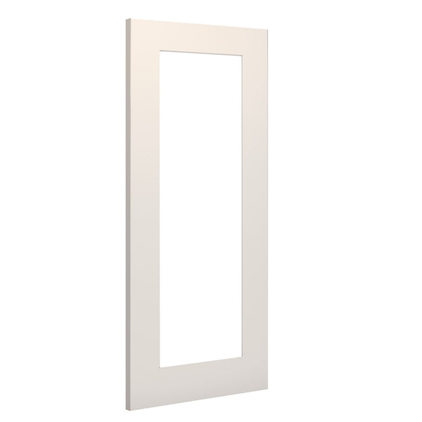 Deanta Denver Glazed Interior White Primed Standard Door - Clear