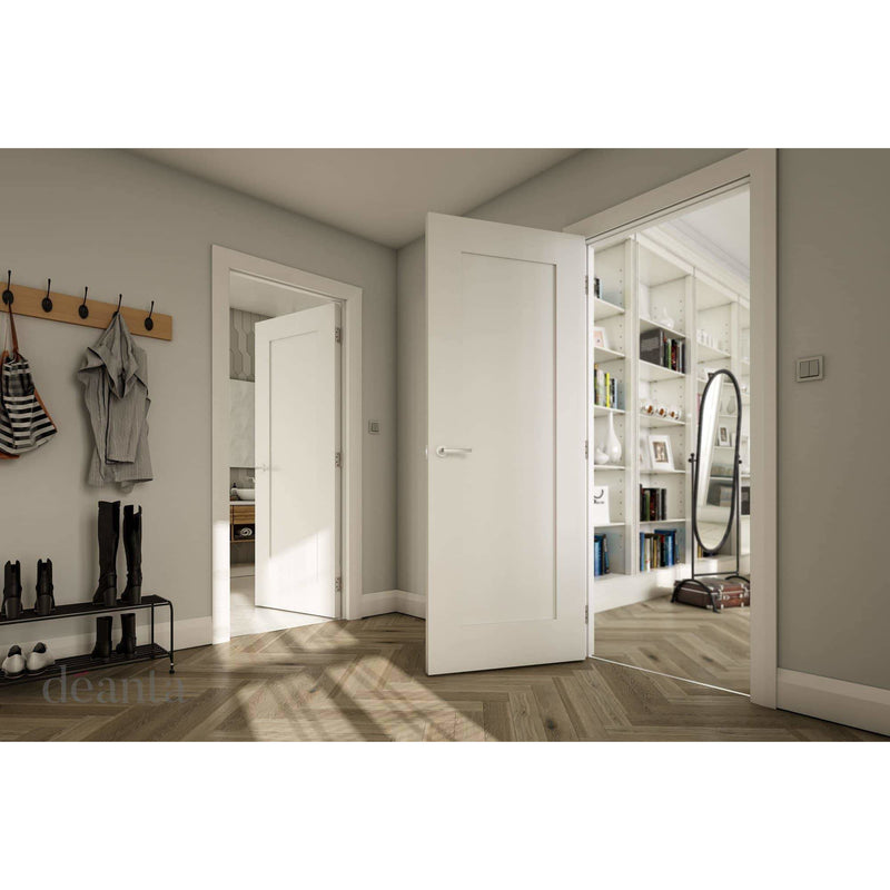 Deanta Denver Interior White Primed Standard Door