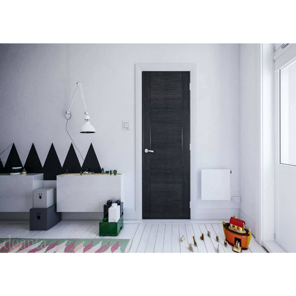 Deanta Montreal Dark Grey Ash Standard Interior Door