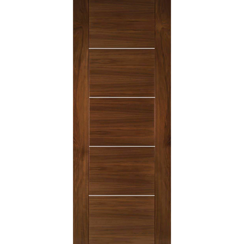 Deanta Valencia Door Prefinished Walnut Internal Standard