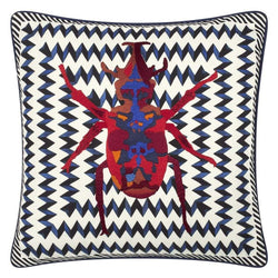 Beetle Waves Oeillet Cushion
