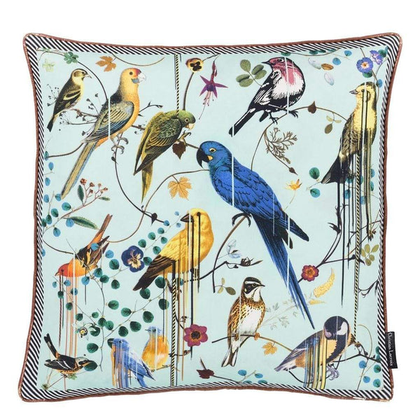 Christian Lacroix Cushions Birds Sinfonia Crepuscule