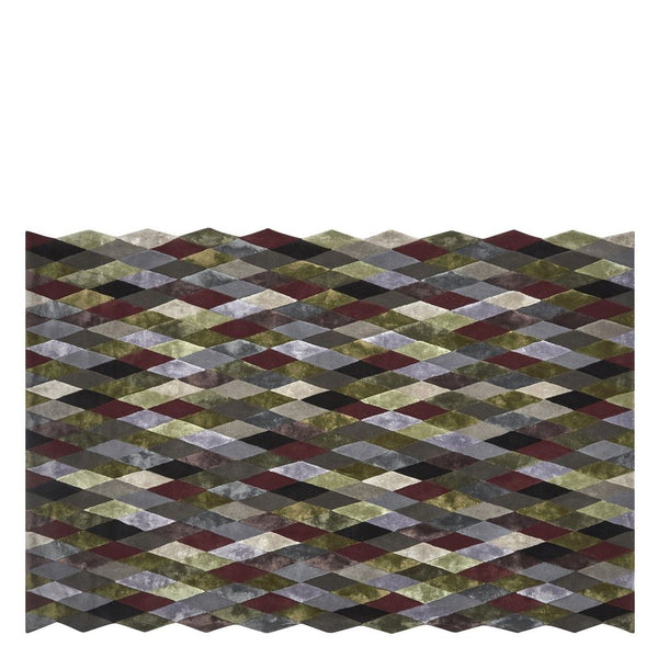 Mascarade Graphite Large Rug