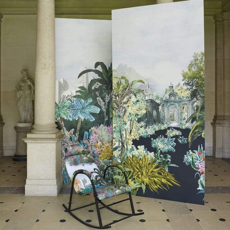 Christian Lacroix Bagatelle Reglisse Wallpaper