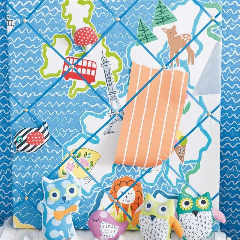 Designers Guild Kids Sundae Stripe - Lime