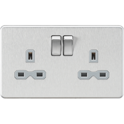 Screwless Chrome Sockets