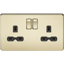 Screwless Gold Sockets