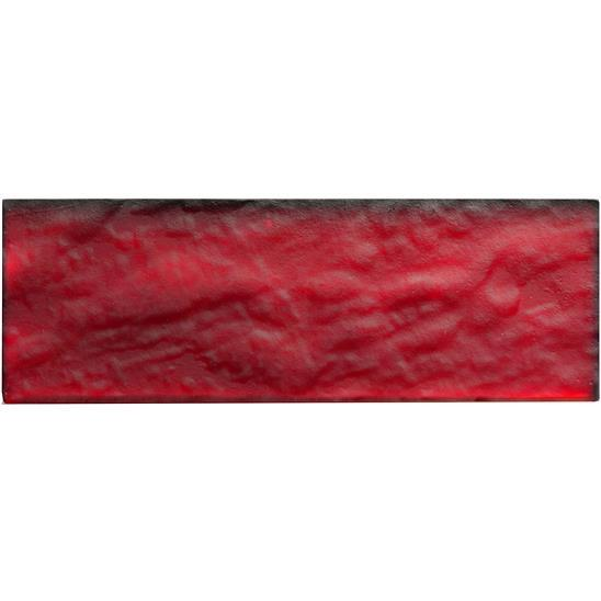 Belinda Eclipse Red Glass Tiles