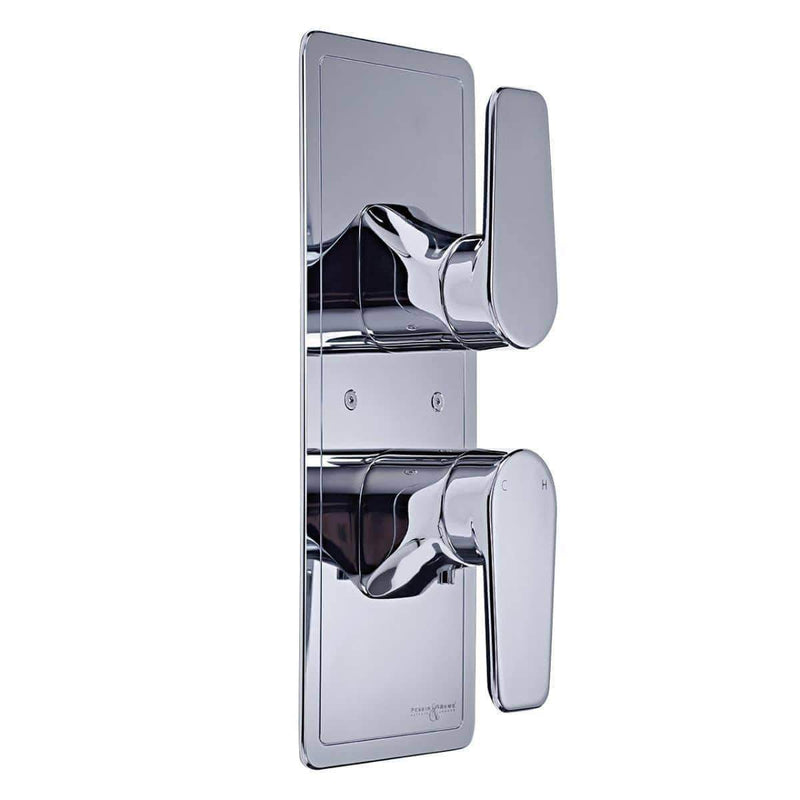 Perrin and  Rowe 5421 Chrome Hoxton Concealed