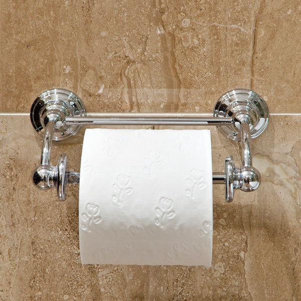 Perrin and Rowe 6960 Traditional Pivot Bar Toilet Roll Holder