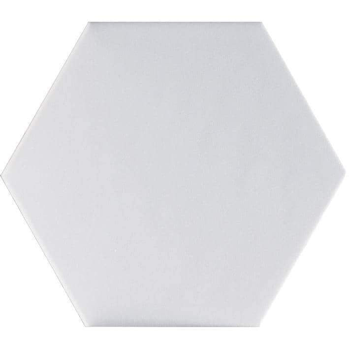 Porcelanosa Faces H2 Blanco Hexagon Tiles