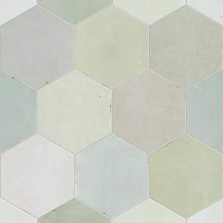 Sadasi Fees Colourful Hexagon Tile
