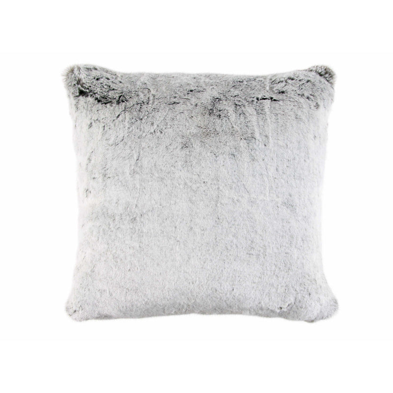 Zinc Textile Cushion Rex Silver Grey