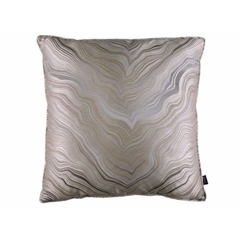 Zinc Textile Marbleous Piped Cushion Dusk