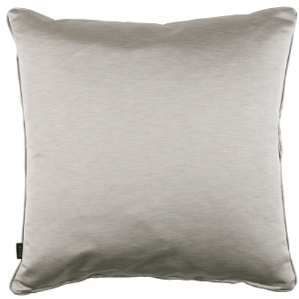 Zinc Textile Ocelot Silver Grey Cushion