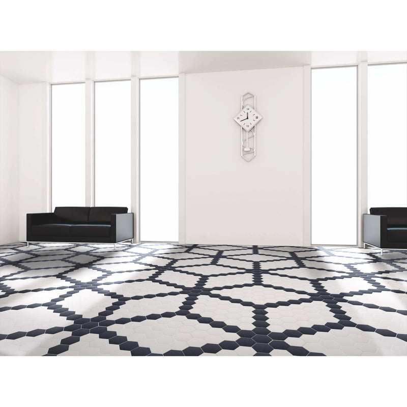 Hexagon Tiles Floor