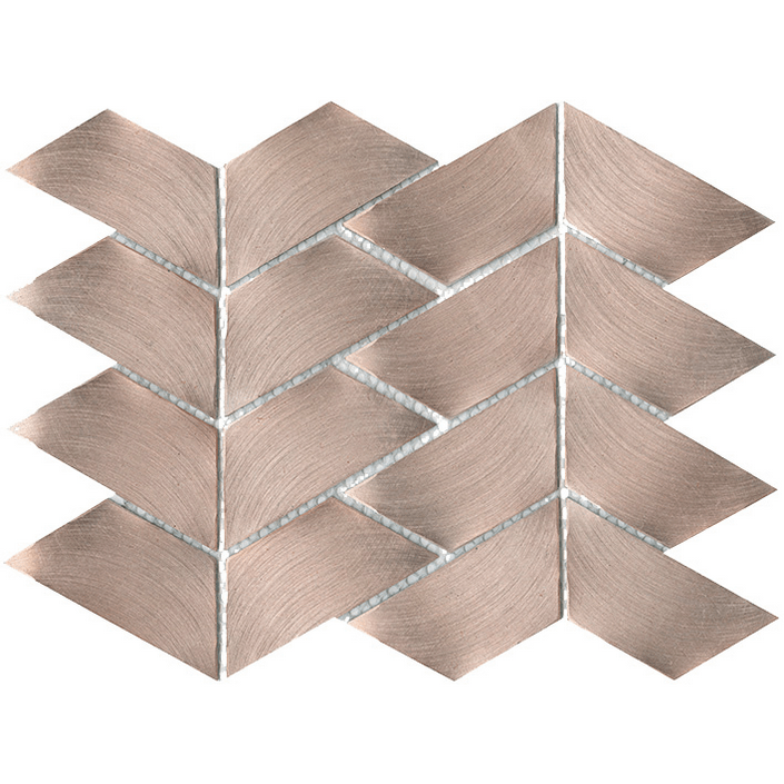 Porcelanosa Gravity Aluminium Trace Rose Gold