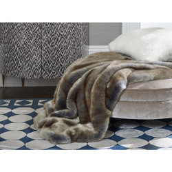 Blue Fox Throw