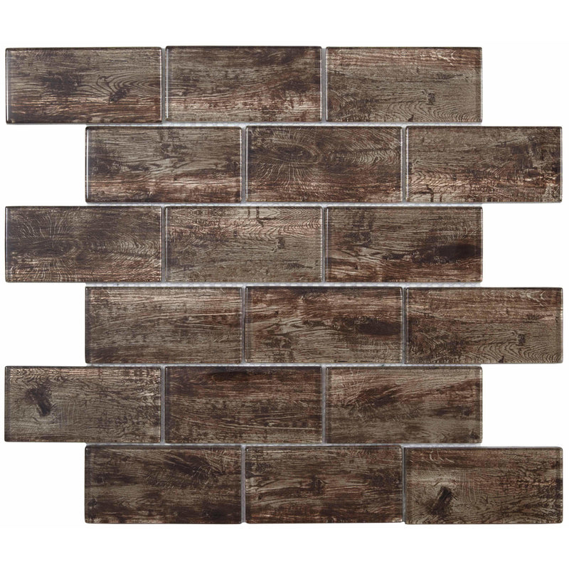 Wood Effect Mosaic