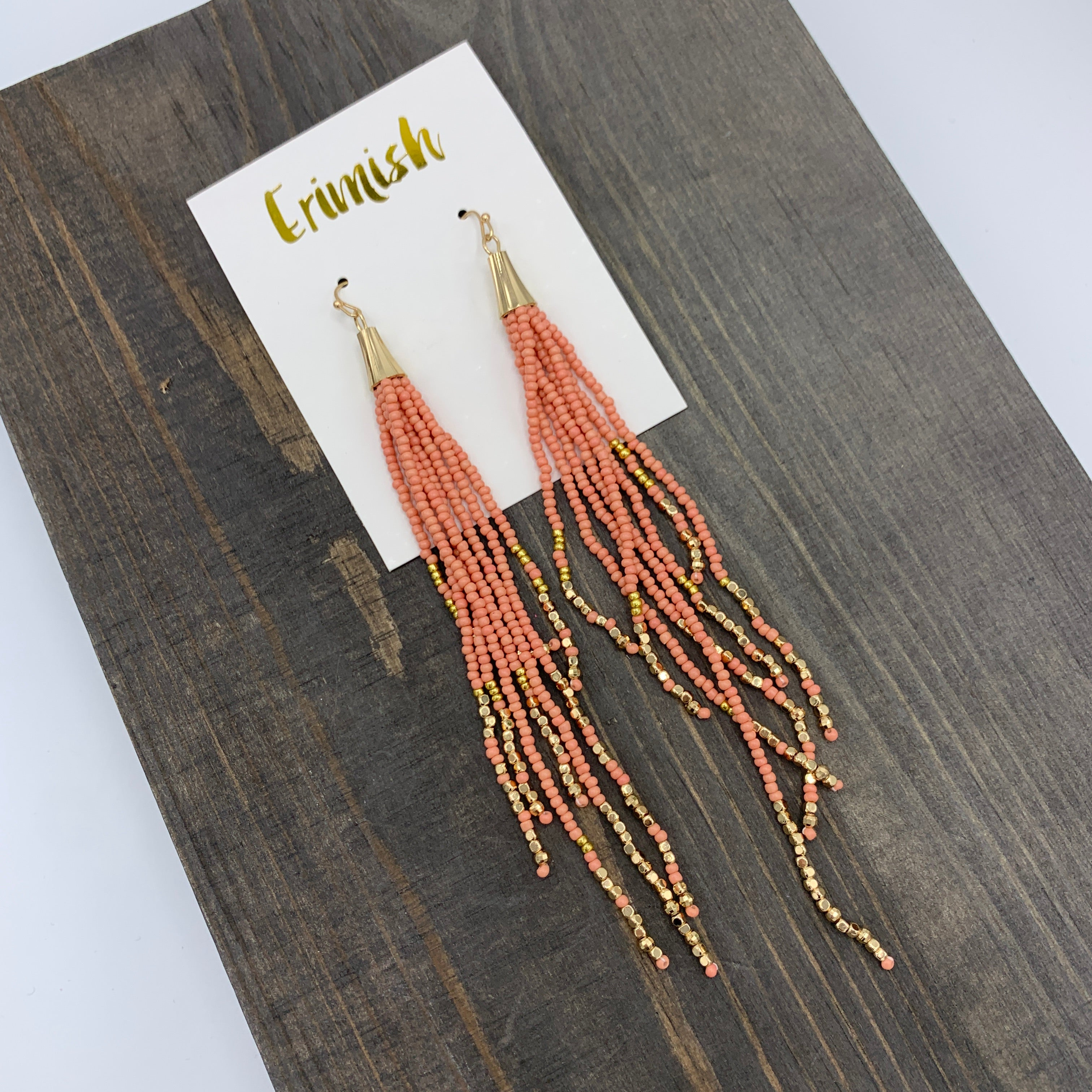 Lead & Nickel Free Erimish Coral Confetti Earrings