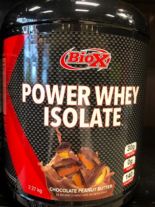 Bio-X Power Whey Isolate 2lb-Chocolate Peanut Butter