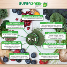 Load image into Gallery viewer, Touchstone Essentials-SuperGreens Juice 300g