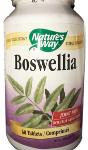 Nature's Way Boswellia-60 tabs
