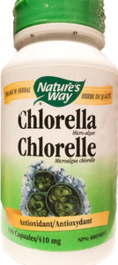 Nature's Way Chlorella 410mg-100 caps