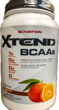 Load image into Gallery viewer, Scivation Xtend BCAAs 1.26kg-Tangerine