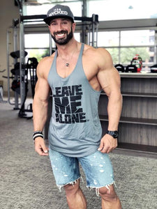 Gym Men's Muscle Sleeveless Tank Top Tee Shirt Bodybuilding Sport Vest US STOCK