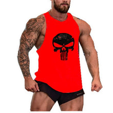 Load image into Gallery viewer, Punisher Fitness Clothing Tank Top Men Gym Bodybuilding Stringer Singlet Muscle Shirt Skull