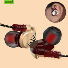 Load image into Gallery viewer, VPB V11 Sport Earphone Wired Super Bass 3.5mm Crack Earphone Earbud with Microphone Hands Free Headset for Samsung