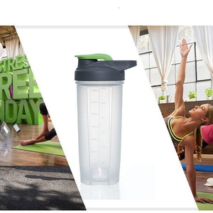 Soffe Frosted Shaker Bottle 500ml Bpa Free Lid Handgrip