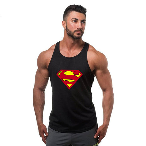 Super Hero Captain America Superman Men's Top