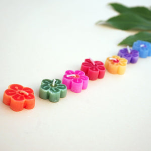 Mini Assorted Flower Floating Scented Candles
