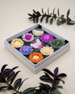 Big Assorted Butterfly Bird and Flower Scented Tealight Set