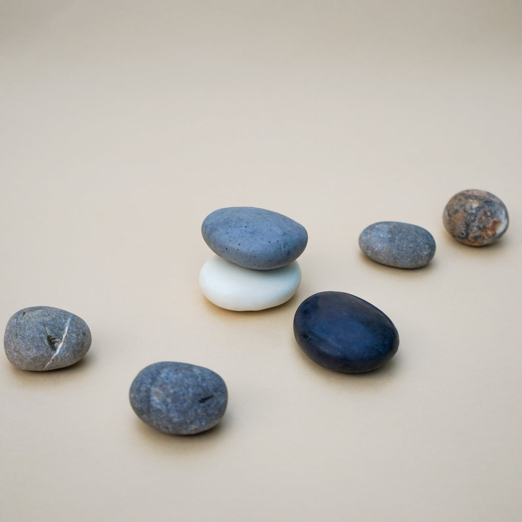 Handmade Plain Soap Stone Set