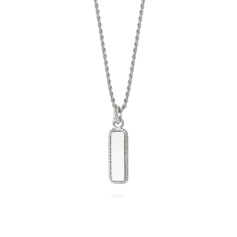 DAISY LONDON STACKED ROPE PENDANT NECKLACE