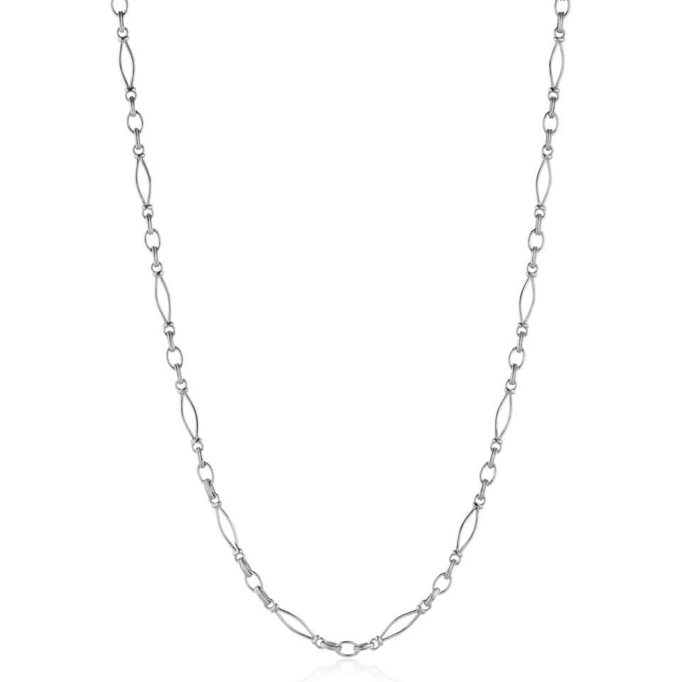 V BY LAURA VANN VINTAGE LINK HEAVY CHAIN NECKLACE