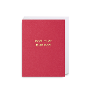 POSITIVE ENERGY CARD