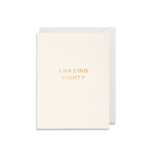 AMAZING EIGHTY CARD