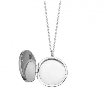 ASTLEY CLARKE CELESTIAL COMPASS LOCKET NECKLACE