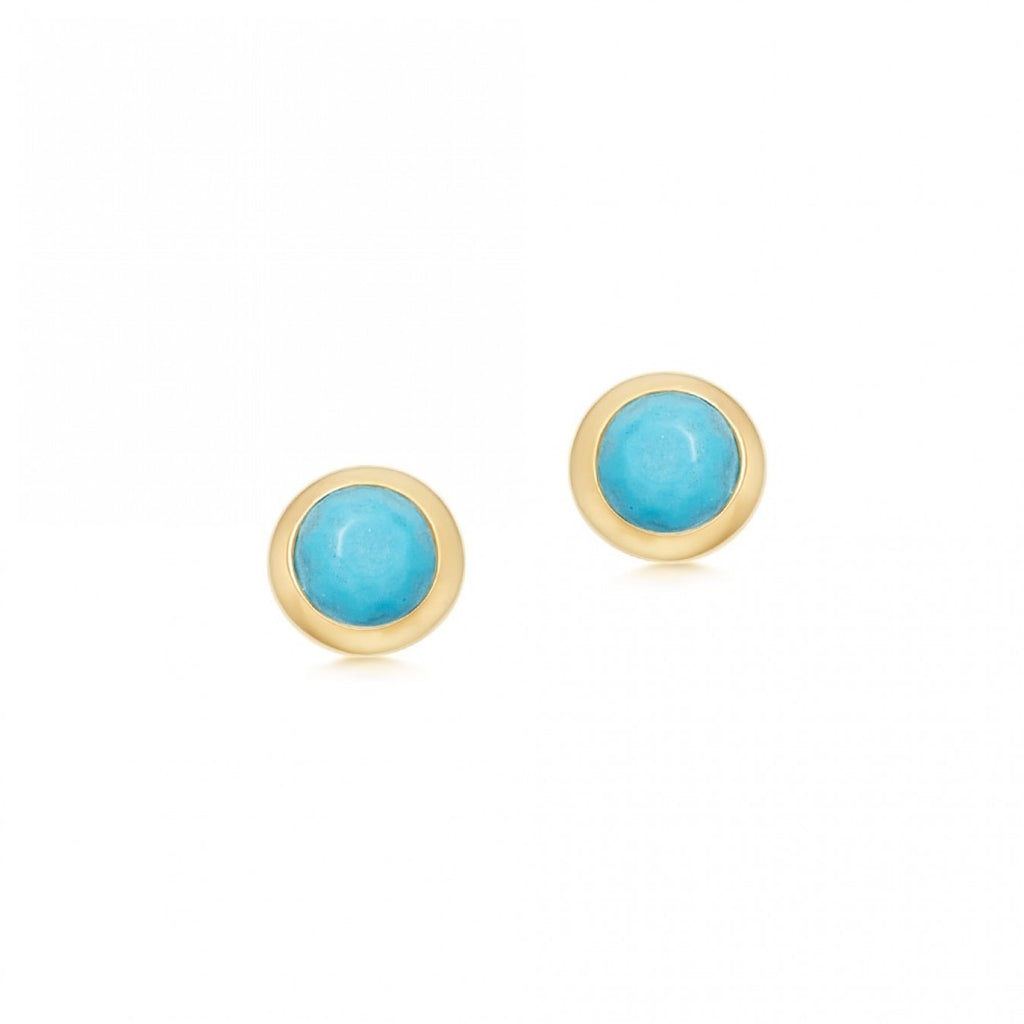 ASTLEY CLARKE MINI STILLA TURQUOISE STUD EARRINGS