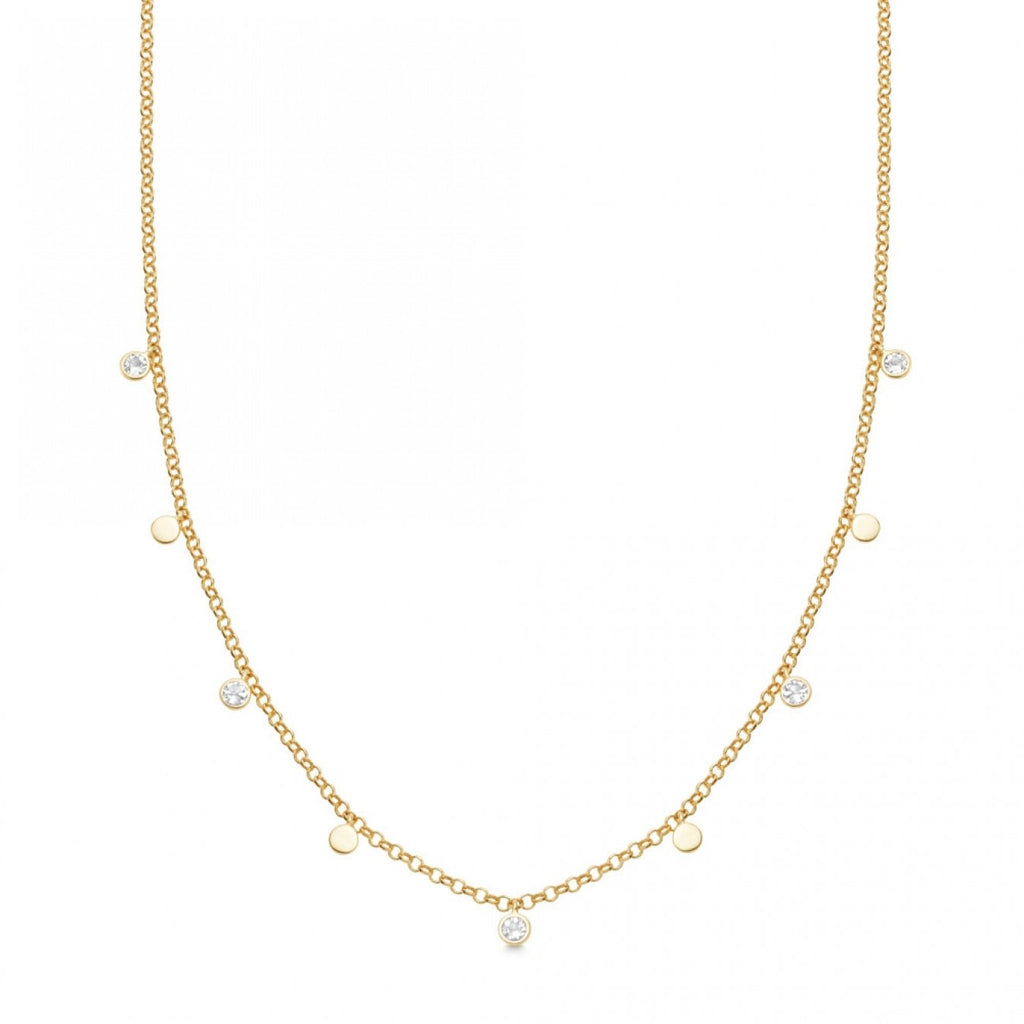 Astley Clarke moonstone droplet necklace