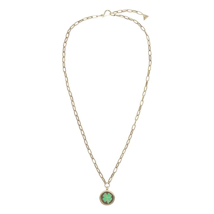 WILHELMINA GARCIA CLOVER NECKLACE
